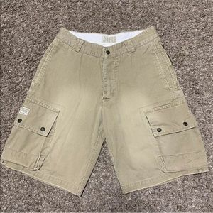 American Eagle Outfitters Cargo Button Fly Shorts
